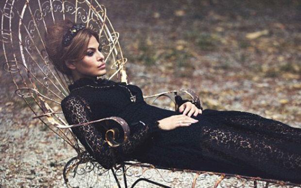 Eva Mendes als glamouröse Gothic-Queen