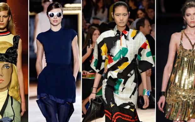 Mailand und Paris-Trends im Check