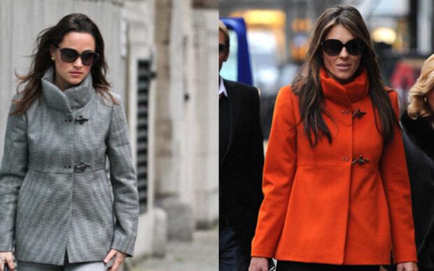 Liz und Pippa im selben Look