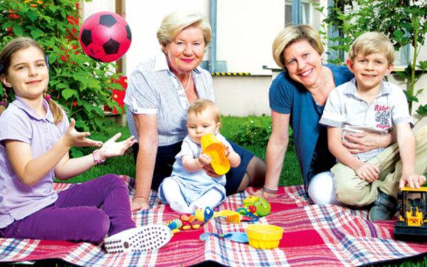 Sissy Pröll: Familie ist das höchste Gut