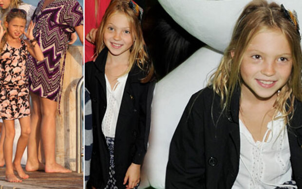 Kate Moss' Tochter hat Spaß am Hobby-Modeln