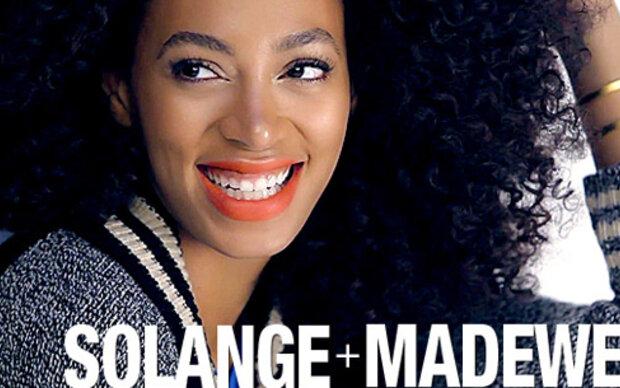 Solange Knowles' erste Modekampagne