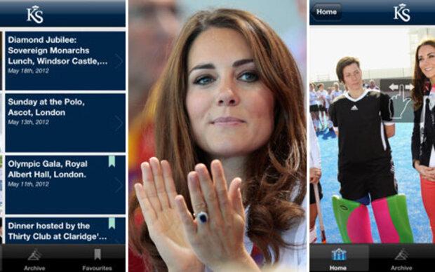 Die Royal-App zeigt uns wie Kate sich kleidet