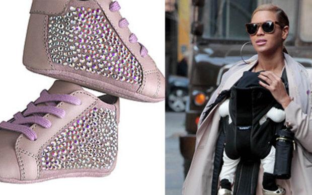 798$ für Baby Blue Ivys Schuhe