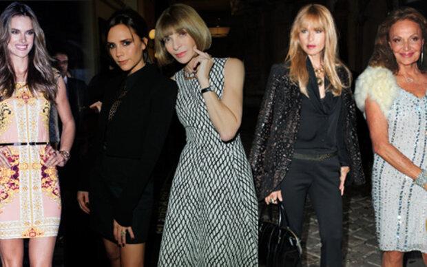 Modewelt im Spenden-Fieber
