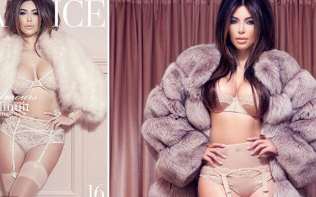 Kim Kardashian zeigt sich wieder halbnackt