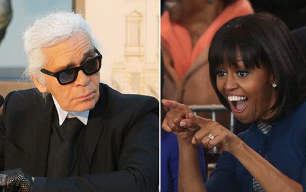 Lagerfeld mag Obamas Haarschnitt nicht