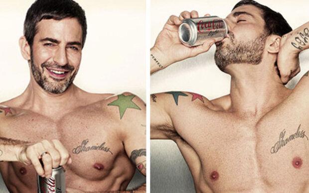 Marc Jacobs ist der neue Coca-Cola- Light Mann