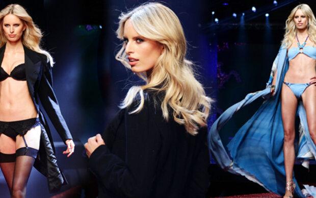 Karolina Kurková zeigt sexy Dessous