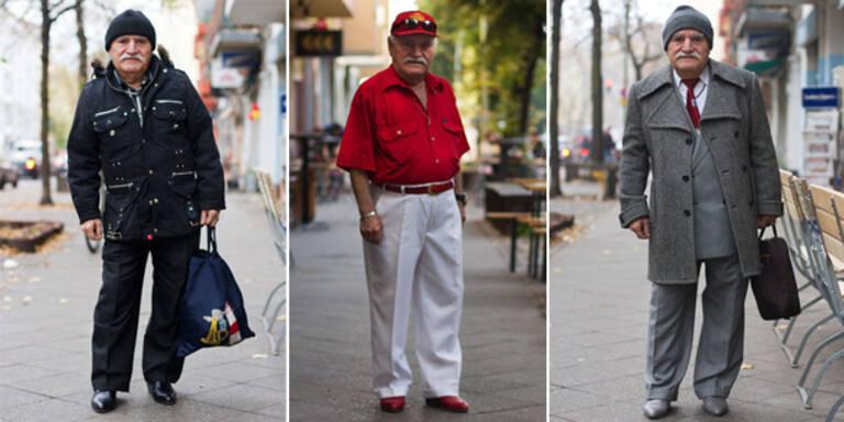 Hobby-Fotografin Zoe Swapton entdeckte den türkischstämmigen 83-jährigen Ali, der täglich an ihrem Arbeitsplatz vorbei geht und fotografiert seine Outfits regelmäßig ab.