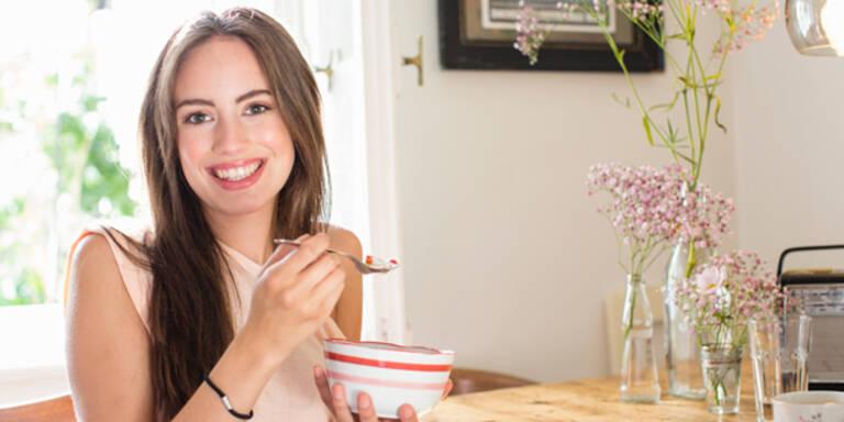 Probiotische Joghurts machen glücklicher