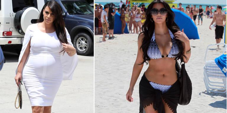 Kim Kardashians Post-Baby-Body im Playboy?
