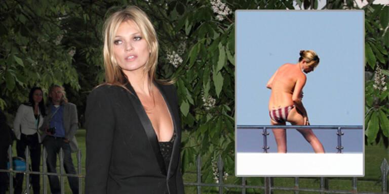Kate Moss: keine Bikini-Tops & Jogginghosen!