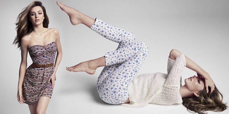 Miranda Kerr zum 2. Mal Model für Mango