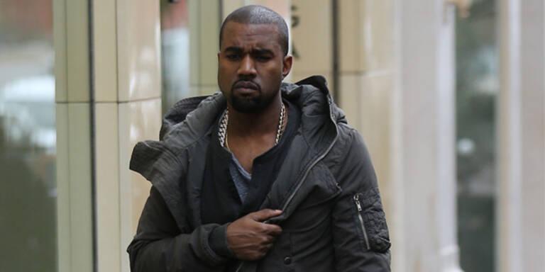 Kanye West sauer auf Fendi