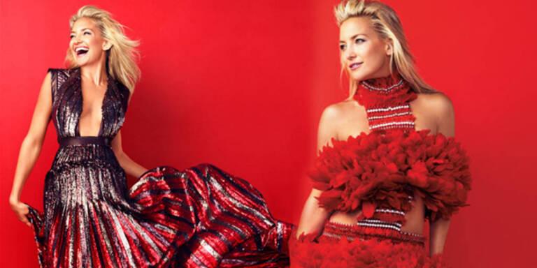 Kate Hudson: Kein Geld für Designer-Kleidung