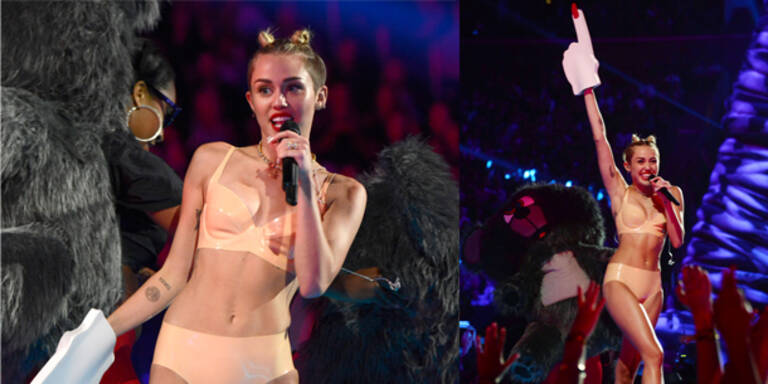 Miley-Outfit ist schlimmster Look des Jahres