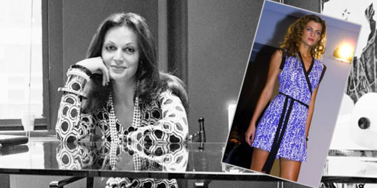 Diane von Fürstenberg: Wie das Wickelkleid sie berühmt machte