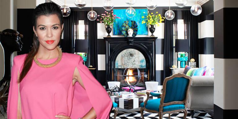 Kardashian: Kopfweh von zu bunter Einrichtung