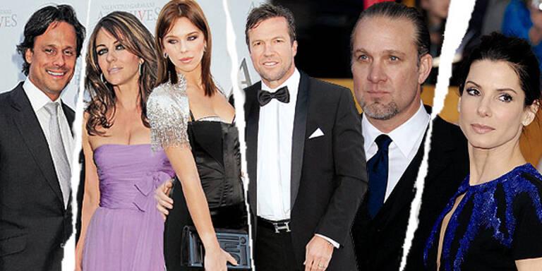 2010: Das Jahr der  Trennungen