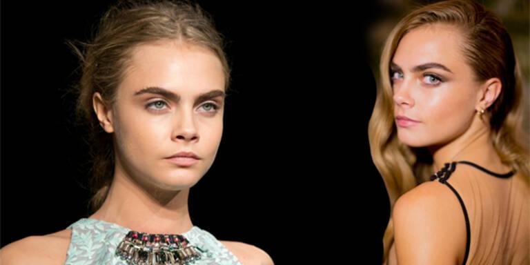 Cara setzt neuen Beauty-OP Trend