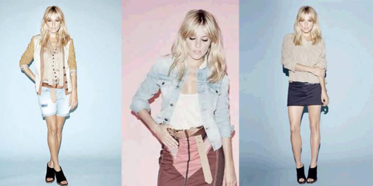 Sienna Miller zeigt ihre neue Mode