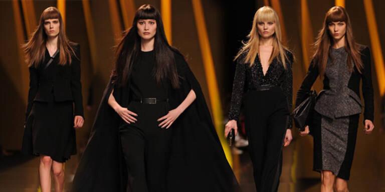 Elie Saab zeigt dunklen Glamour