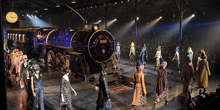 Dampflok bei Vuitton-Show kostete 6 Millionen