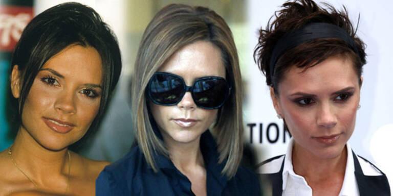 Victoria Beckhams Haarstyles im Wandel der Zeit