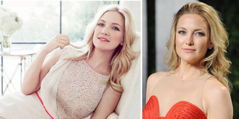 Kate Hudson modelt für Ann Taylor