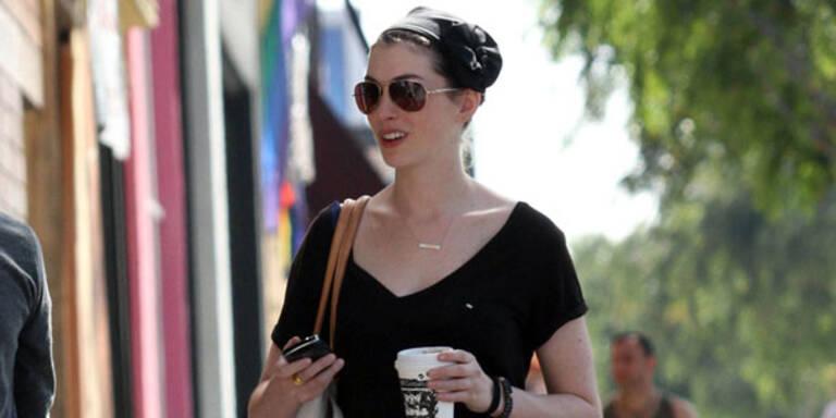 Anne Hathaway auf Crash-Diät