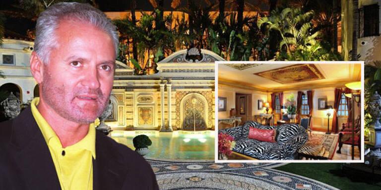 Luxuriöse Versace-Villa wird um 125 Mio.$ verkauft
