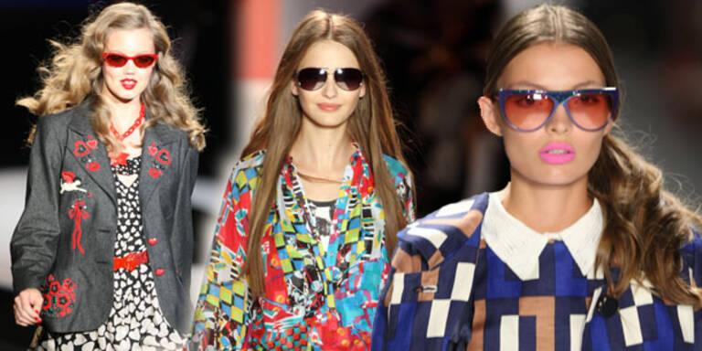 Sonnenbrillen-Trends vom Catwalk
