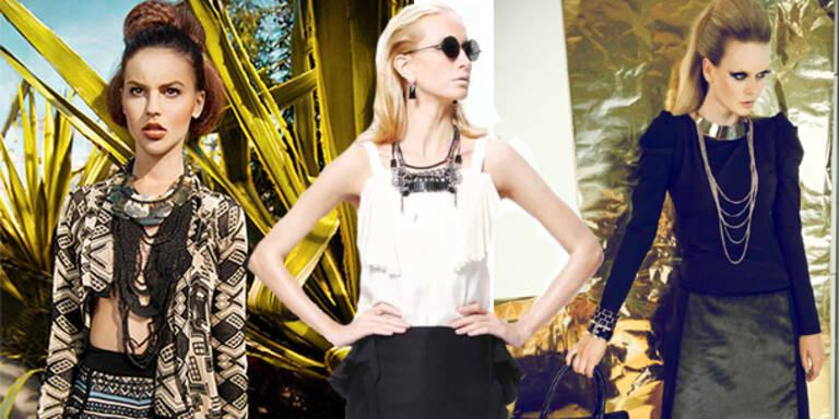 Internationale Designer bei der Fashion Week