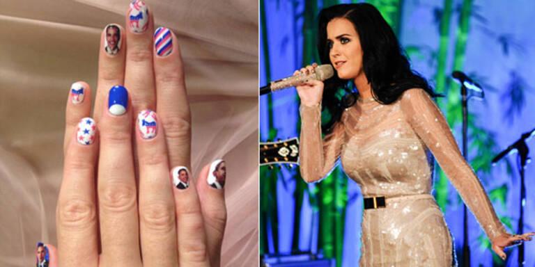 Katy Perry zeigt uns Polit-Nägel