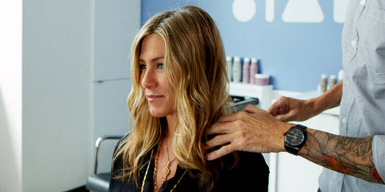 Jennifer Aniston macht Haarpflege-Produkte