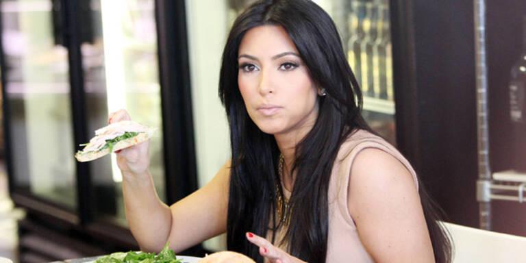 Kim auf Vor-Weihnachts-Diät