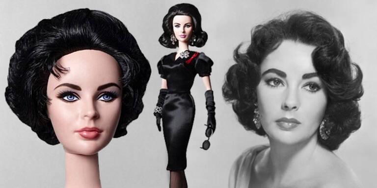 Die Liz Taylor-Barbie ist da