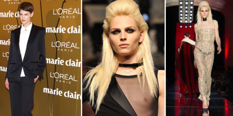 Rollentausch: Frauen modeln für Männermode