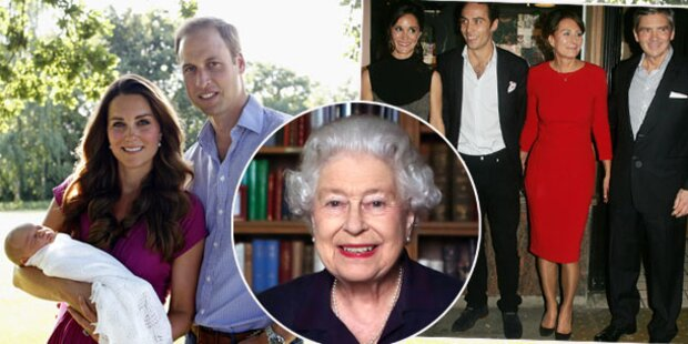 Middletons: Weihnachten bei Queen