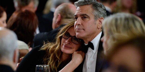Roberts & Clooney: Beste Freunde unter sich