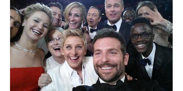 Oscars: DeGeneres' Starfoto wird Twitterhit