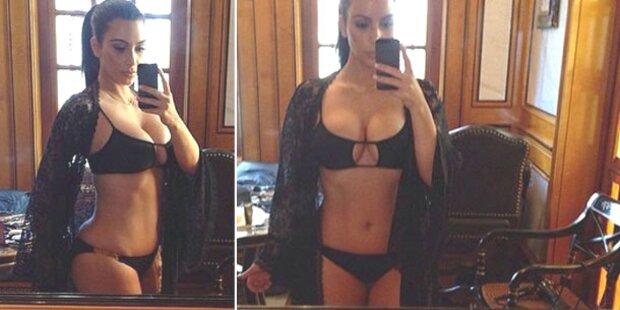 Kim Kardashian: Kurven-Show im Bikini