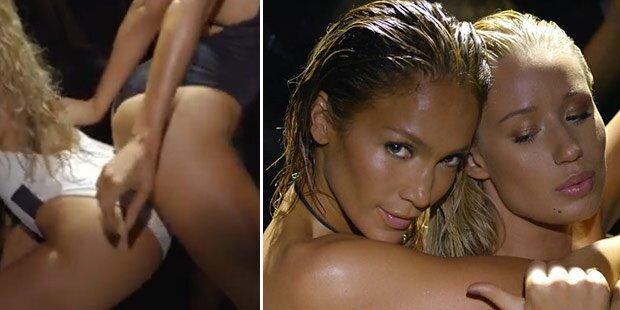 Lopez: So versext ist ihr Po-Video