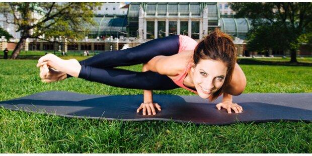 Das 15-Minuten-Training von Julia Dujmovits