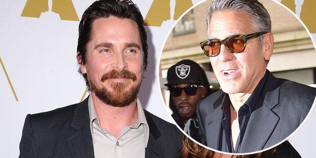 Christian Bale lästert über George Clooney