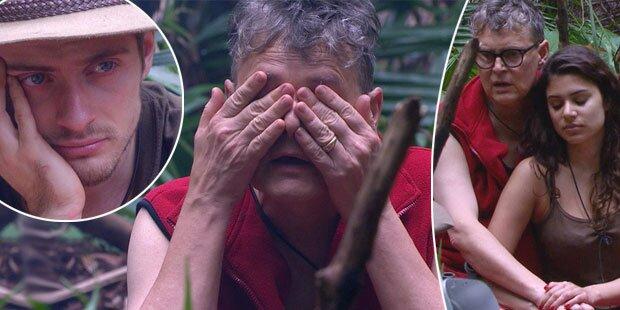 Tränen-Alarm im Dschungelcamp