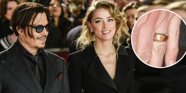 Johnny Depp: Heimliche Hochzeit?