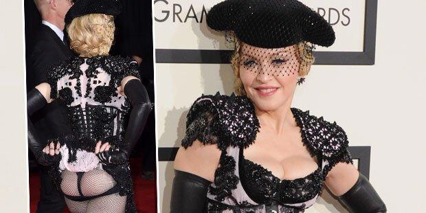 Madonna erklärt ihren Po-Blitzer