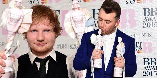 Brit Awards: Sheeran & Smith räumten ab